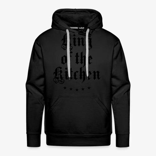 King of the Kitchen cook Koch Krone Crown T-Shirt 05 - Männer Premium Hoodie