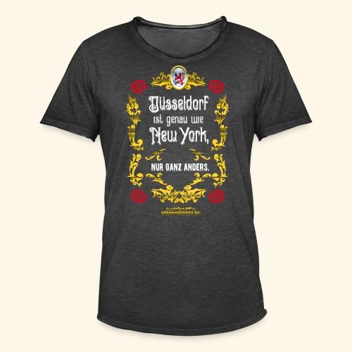 cooles Düsseldorf-Shirt im Vintage Look - Männer Vintage T-Shirt