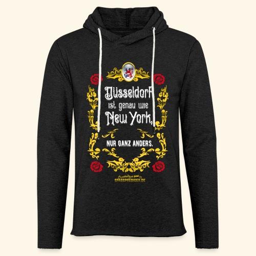 cooles Düsseldorf-Shirt im Vintage Look - Leichtes Kapuzensweatshirt Unisex