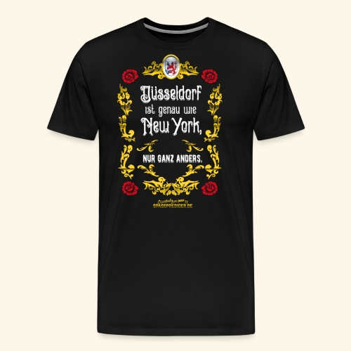 cooles Düsseldorf-Shirt im Vintage Look - Männer Premium T-Shirt