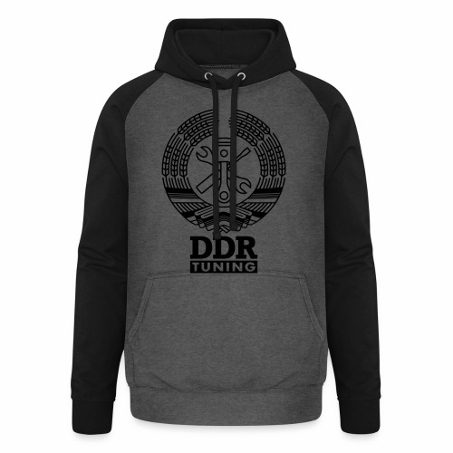 DDR Tuning Wappen 1c - Unisex Baseball Hoodie
