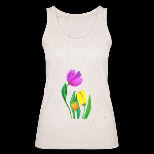 FrauenT-Shirt Tulpen - Frauen Bio Tank Top von Stanley & Stella