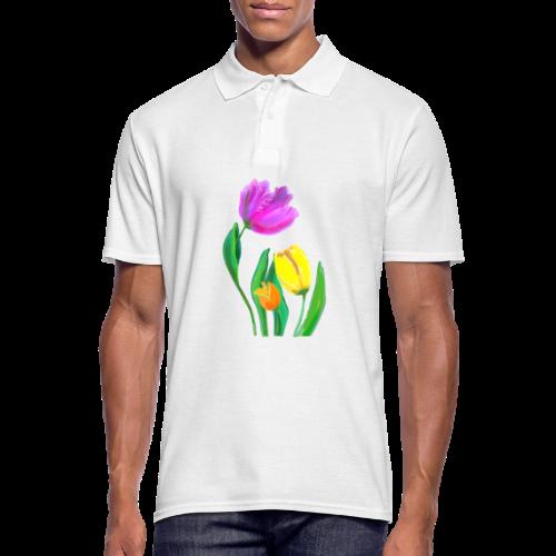 FrauenT-Shirt Tulpen - Männer Poloshirt