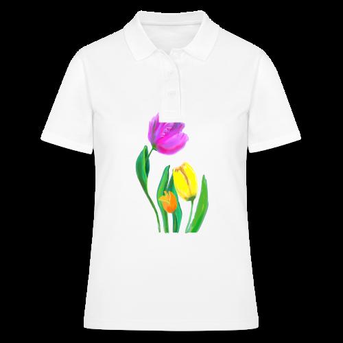 FrauenT-Shirt Tulpen - Women's Polo Shirt