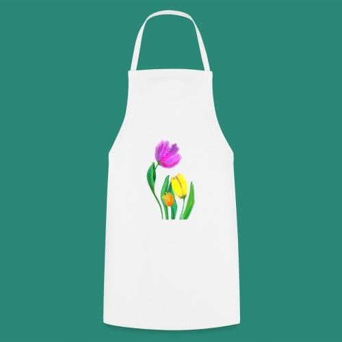 FrauenT-Shirt Tulpen - Kochschürze