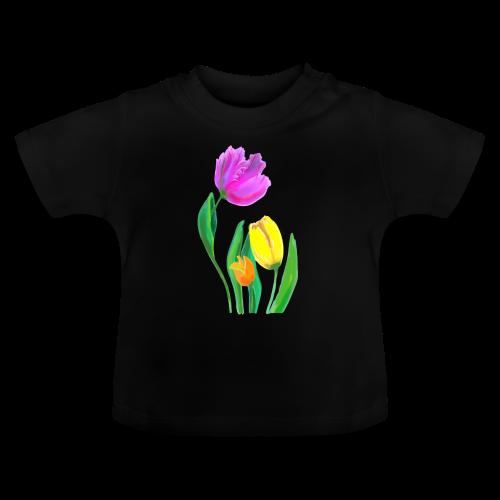 FrauenT-Shirt Tulpen - Baby T-Shirt