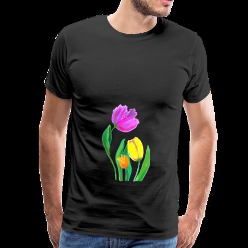 FrauenT-Shirt Tulpen - Männer Premium T-Shirt