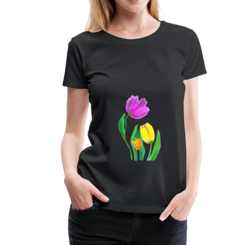 FrauenT-Shirt Tulpen - Frauen Premium T-Shirt