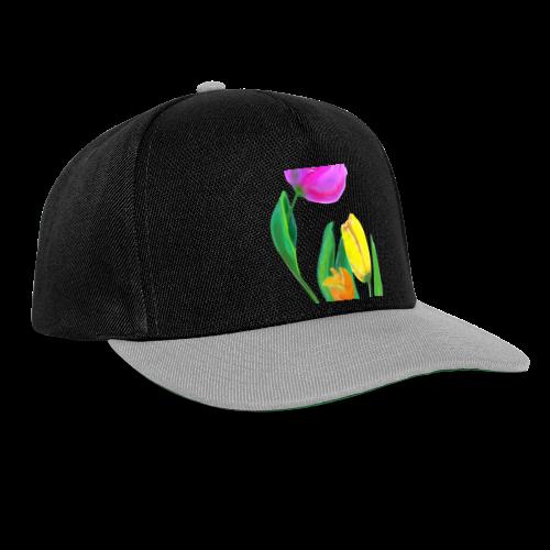 FrauenT-Shirt Tulpen - Snapback Cap
