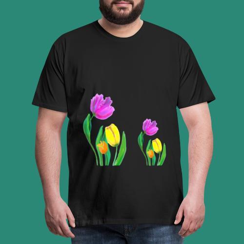 Mode mit Tulpen,Shirts und Tops und  Geschenke - Männer Premium T-Shirt