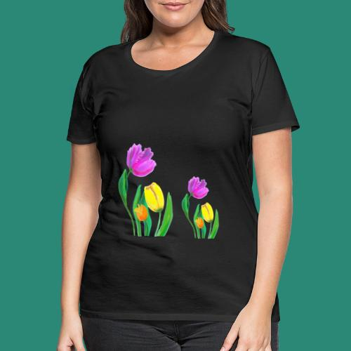 Mode mit Tulpen,Shirts und Tops und  Geschenke - Frauen Premium T-Shirt