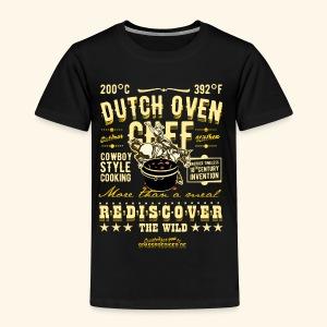 Cooles Grill Shirt Design Dutch Oven Chef