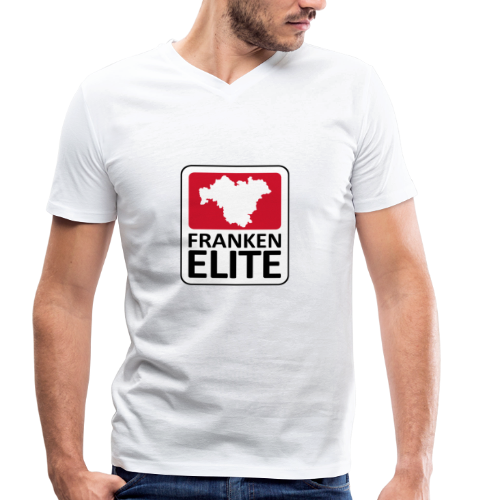 Franken Elite - Männer Bio-T-Shirt mit V-Ausschnitt von Stanley & Stella