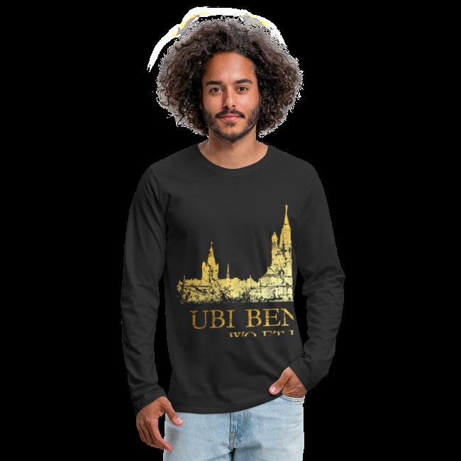 Kölner Skyline (Vintage) mit römischem Köln Spruch