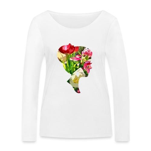 Tulpenpastrell- Dame - Frauen Bio-Langarmshirt von Stanley & Stella