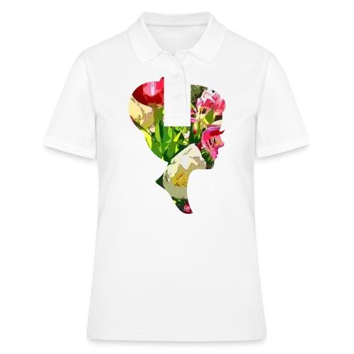 Tulpenpastrell- Dame - Frauen Polo Shirt