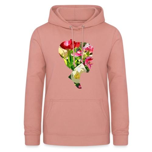 Tulpenpastrell- Dame - Frauen Hoodie