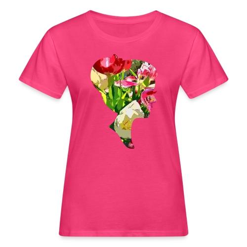 Tulpenpastrell- Dame - Frauen Bio-T-Shirt