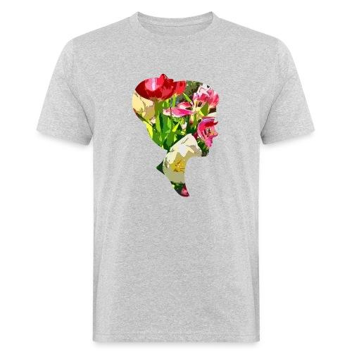 Tulpenpastrell- Dame - Männer Bio-T-Shirt