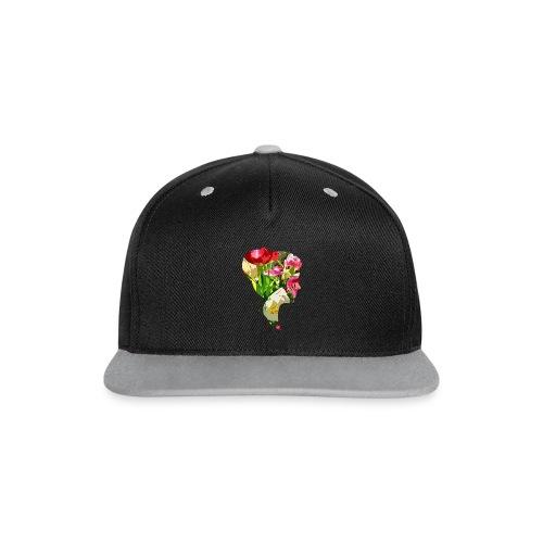 Tulpenpastrell- Dame - Kontrast Snapback Cap