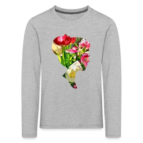 Tulpenpastrell- Dame - Kinder Premium Langarmshirt