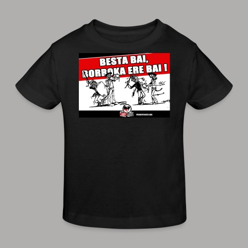 Besta bai borroka ere bai - T-shirt bio Enfant