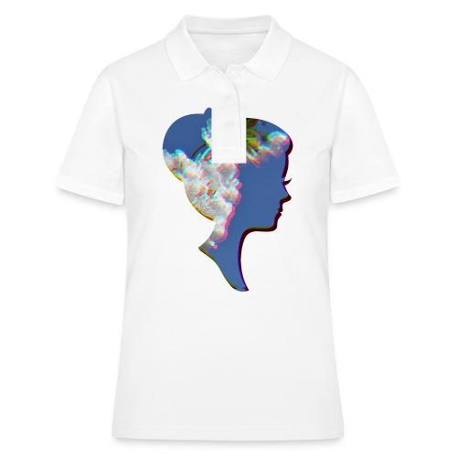 Dame mit Kirschblüten - Frauen Polo Shirt