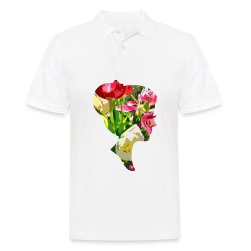 Tulpenpastell-Dame - Männer Poloshirt
