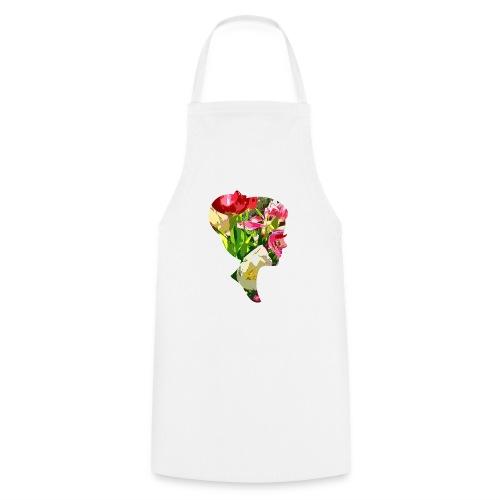 Tulpenpastell-Dame - Kochschürze
