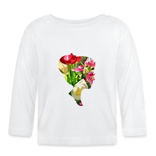 Tulpenpastell-Dame - Baby Langarmshirt