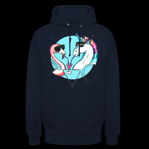 Flamingo & Einhorn - Unisex Hoodie
