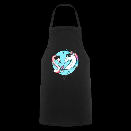 Flamingo & Einhorn - Kochschürze