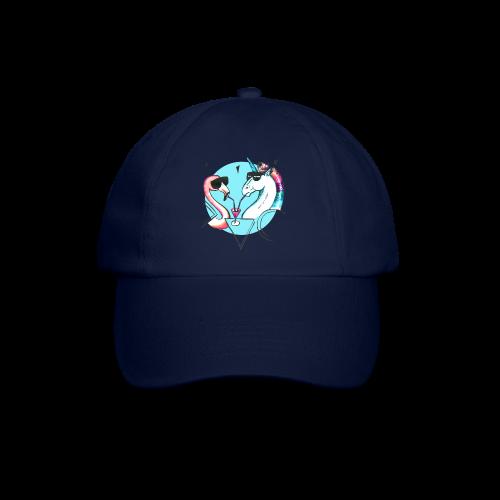Flamingo & Einhorn - Baseballkappe