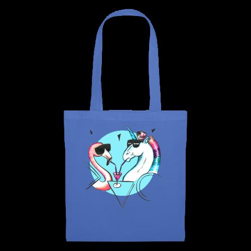 Flamingo & Einhorn - Stoffbeutel