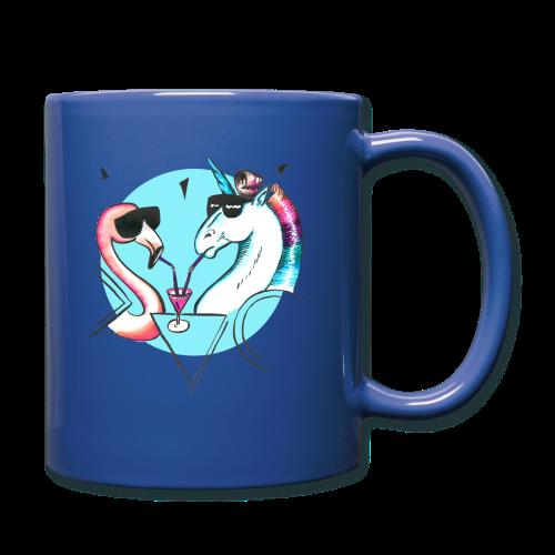 Flamingo & Einhorn - Tasse einfarbig
