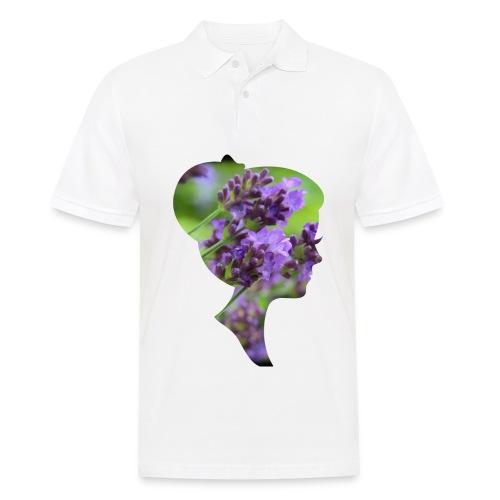 Lavendel-Dame - Männer Poloshirt