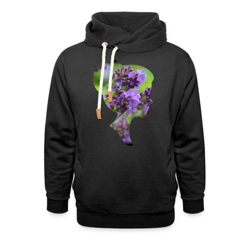 Lavendel-Dame - Schalkragen Hoodie