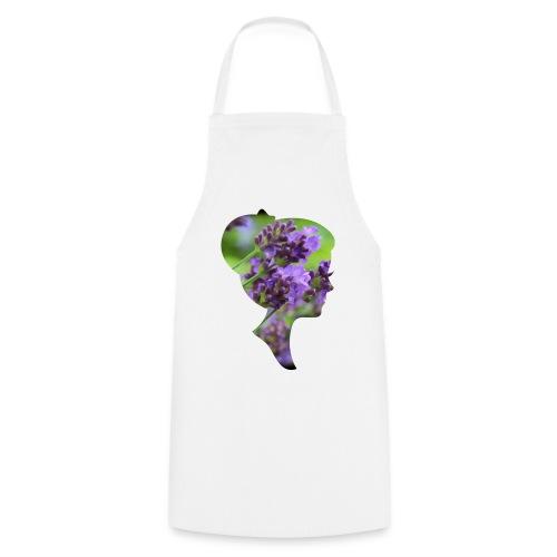 Lavendel-Dame - Kochschürze