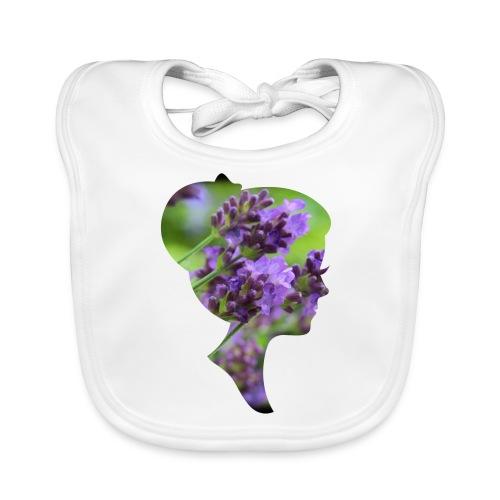 Lavendel-Dame - Baby Bio-Lätzchen