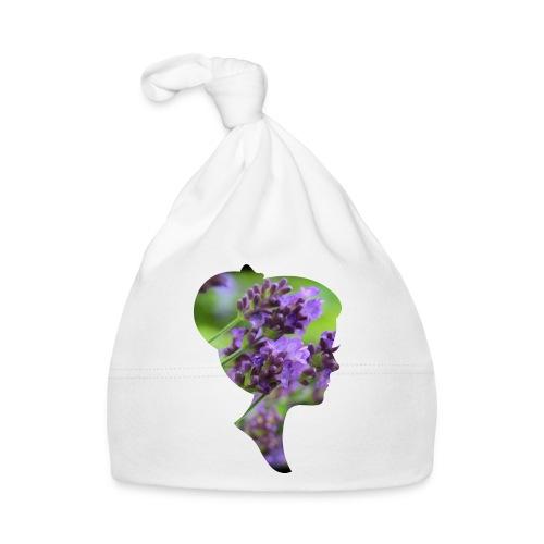 Lavendel-Dame - Baby Mütze