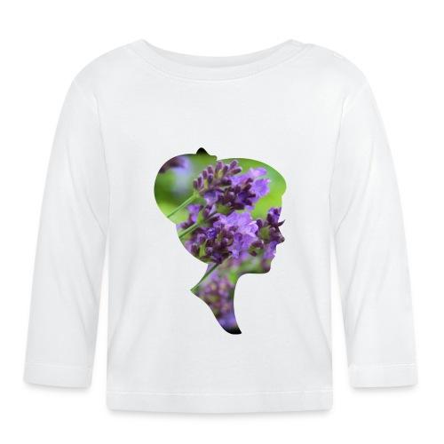 Lavendel-Dame - Baby Langarmshirt
