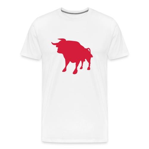 Roter Stier San Fermin  - Men's Premium T-Shirt