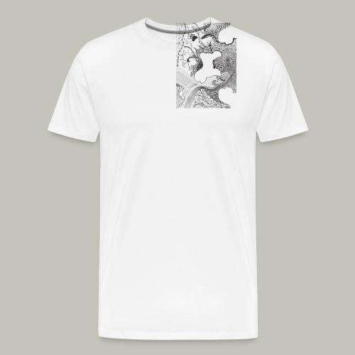 Buttons - Männer Premium T-Shirt
