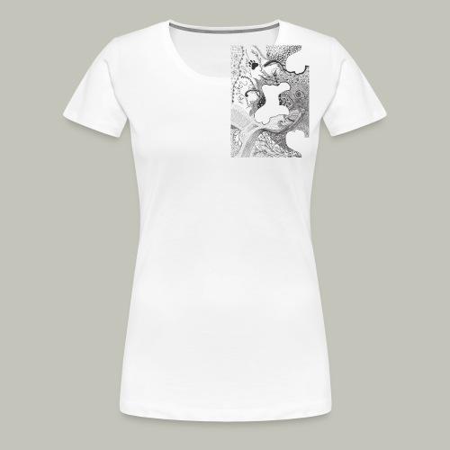 Buttons - Frauen Premium T-Shirt