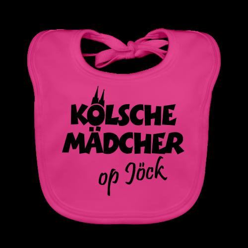 Kölsche Mädcher op Jöck Mädchen aus Köln Unterwegs - Baby Bio-Lätzchen