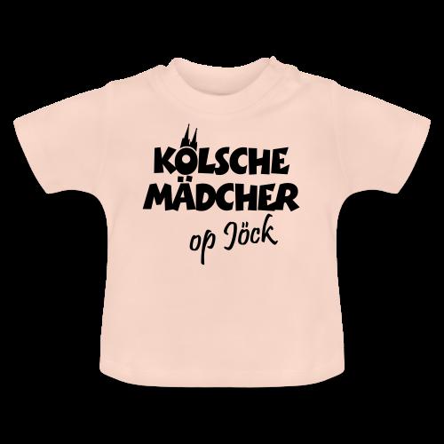 Kölsche Mädcher op Jöck Mädchen aus Köln Unterwegs - Baby T-Shirt