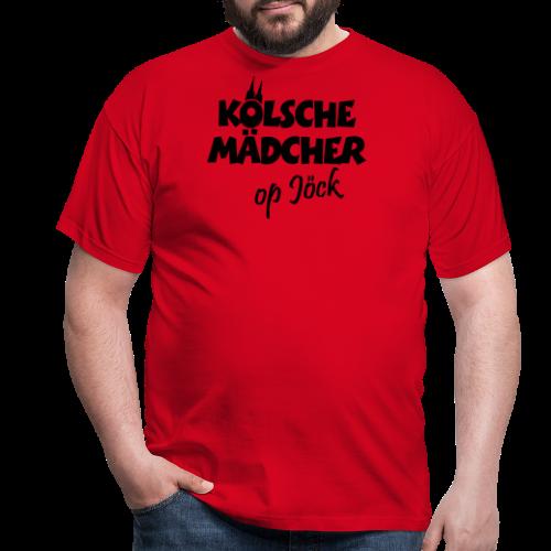 Kölsche Mädcher op Jöck Mädchen aus Köln Unterwegs - Männer T-Shirt