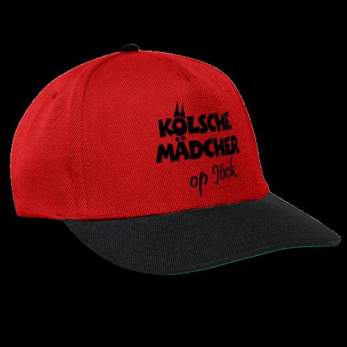 Kölsche Mädcher op Jöck Mädchen aus Köln Unterwegs - Snapback Cap