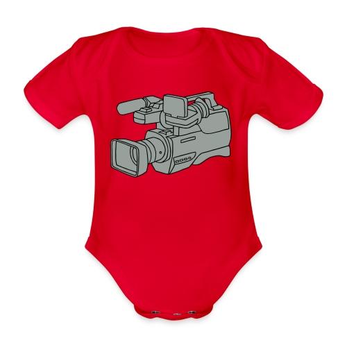 Videokamera 2 - Baby Bio-Kurzarm-Body