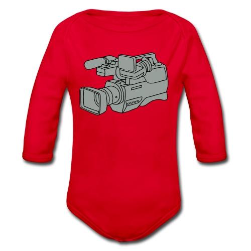 Videokamera 2 - Baby Bio-Langarm-Body